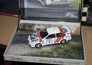 【送料無料】模型車 スポーツカー フォードシエラコスワースマンラリーマクレーラリー listingtrofeu 143 ford sierra rs cosworth, 1st manx rally 1987, mcrae rally legends