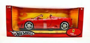【送料無料】模型車 スポーツカー ホットホイールフェラーリスパイダー118 hot wheels ferrari f430 spider