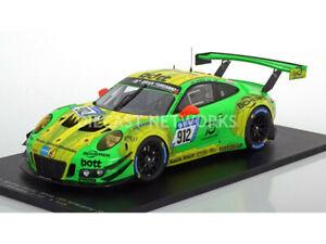 【送料無料】模型車 スポーツカー ポルシェグアテマラニュルブルクリンクシングル listingspark 118 porsche 911 gt3 rwinner 24h nurburgring 2018 18sg027