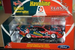 【送料無料】模型車 スポーツカー クラシックラッセルファルコンclassic carlectables 143 russell ingalls year 2003 caltex havoline ba falcon