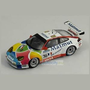 【送料無料】模型車 スポーツカー スパークモデルポルシェルマンデュマspark models porsche 996 gt3 rsr, 76 le mans 2006 dumasriccitellis0969