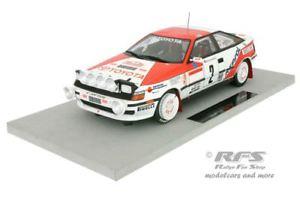【送料無料】模型車 スポーツカー トヨタセリカグアテマララリーモンテカルロトップマルケスtoyota celica gt4 st165 rally monte carlo 1991 sainz 118 top marques 044a