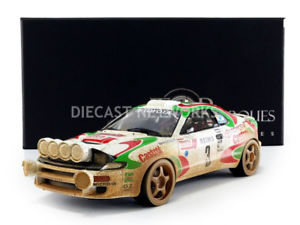 【送料無料】模型車 スポーツカー トップマルケストヨタセリカモンテカルロラリーtop marques collectibles 118 toyota celica gt4winner rallye monte carlo