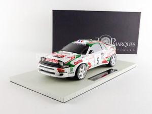 【送料無料】模型車 スポーツカー トップマルケストヨタセリカグアテマラツールドコルスtop marques collectibles 118 toyota celica gt4 winner tour de corse 1994