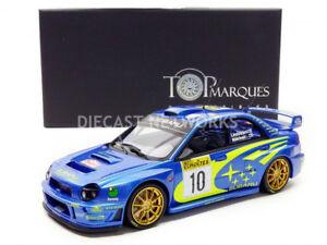 【送料無料】模型車 スポーツカー トップマルケスラリーモンテカルロtop marques collectibles 118 subaru imprezawinner rally monte carlo 200