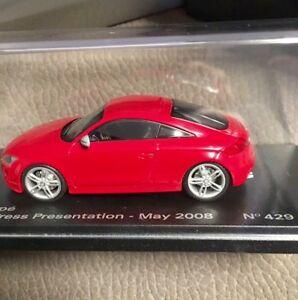 【送料無料】模型車 スポーツカー アウディクーペモデルカー audi tt coupe 143 looksmart model car 143 no bbr mr
