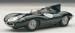 【送料無料】模型車 スポーツカー ジャガータイプルマンレースモデルjaguar dtype le mans 24 hrs race winner 6 1995 hawthorn bueb 143 model