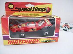 【送料無料】模型車 スポーツカー マッチレーサー#スピードmatchbox k35, lightning f1 racer 35, 1971, speed kings, ovp