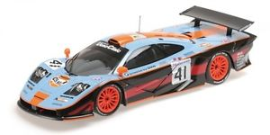 【送料無料】模型車 スポーツカー マクラーレンガルフチームルマンmclaren f1 gtr gulf team david raphanel gounon olofsson 24h le mans 1997 118