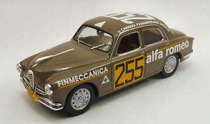 【送料無料】模型車 スポーツカー アルファロメオ1900255カレラメキシコ1954143モデルm4alfa romeo 1900 255 carrera mexico 1954 143 model m4