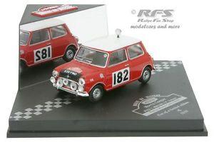 【送料無料】模型車 スポーツカー モーリスミニクーパーラリーモンテカルロmorris mini cooper s rally monte carlo 1964 mkinen 143 vitesse vss 43332