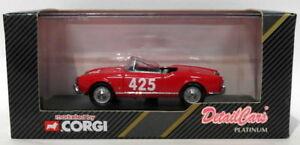 【送料無料】模型車 スポーツカー スケールアートアルファロメオ#レーシングdetail cars 143 scale art206 alfa romeo giulietta 425 1958 racing 1000 miglia