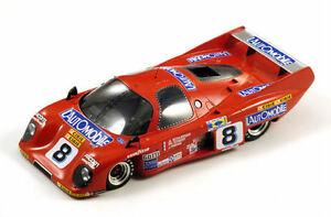 【送料無料】模型車 スポーツカー #ルマンモデルスパークモデルrondeau m 379 8 2nd le mans 1981 118 model spark model