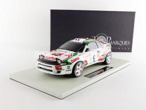【送料無料】模型車 スポーツカー トップ118toyota celica gt4de1994top marques collectibles 118 toyota celica gt4winner tour de corse 1994