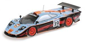 【送料無料】模型車 スポーツカー マクラレンf1 gt3チームダヴィドフbellmギルバートスコット24h lm 1997 118mclaren f1 gt3 gulf team david bellm gilbert scott sekiya 24h lm 1997 118