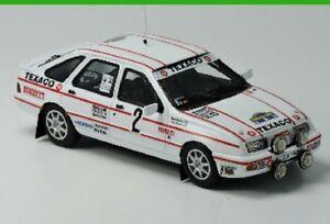 【送料無料】模型車 スポーツカー フォードシエラ×マウントスウェーデンラリー143 ford sierra xri 4x4rally of sweden mounted sold
