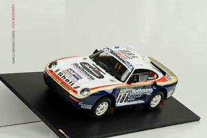 【送料無料】模型車 スポーツカー ポルシェパリダカール#ルモワーヌ1986 porsche 959 paris dakar 186 winner metge lemoyne 118 tsm museum
