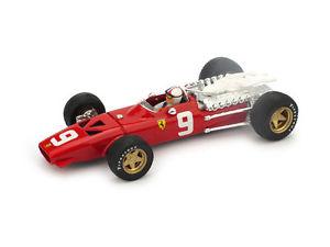 【送料無料】模型車 スポーツカー フェラーリフォーミュリスアモンモデルferrari 312 formula 1 chris amon 1968 143 2012 model r172ch brumm