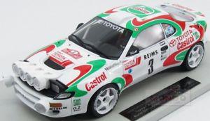 【送料無料】模型車 スポーツカー トヨタセリカグアテマラ#ラリーモンテカルロトップtoyota celica gt4 st185 3 winner rally montecarlo 1993 topmarques 118 top034a