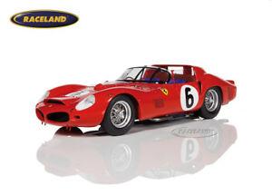 【送料無料】模型車 スポーツカー フェラーリトライルマンヒルferrari 330 tri lm winnerwinner le mans 1962 gendebienhill, looksmart 118