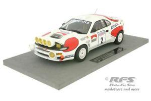 【送料無料】模型車 スポーツカー トヨタcelica turbo 4wdレースracラリー1992sainz 118トップ034btoyota celica turbo 4wd night race rac rally 1992 sainz 118 top marques 0