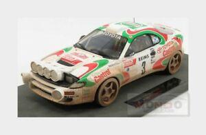 【送料無料】模型車 スポーツカー トヨタcelica gt4 st1853montecarlo1993topmarques 118 top034adtoyota celica gt4 st185 3 winner rally montecarlo 1993 topmarques