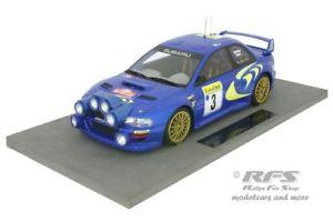 【送料無料】模型車 スポーツカー スバルimpreza wrc s4ラリーモンテカルロ1998コリンマクレー118トップsubaru impreza wrc s4 rally monte carlo 1998 colin mcrae 118 top marques
