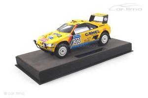 【送料無料】模型車 スポーツカー プジョーパリダカールバタネンマルケスpeugeot 405 gt t16 winner paris dakar 1990vatanenbishoptop marques
