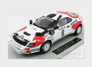 【送料無料】模型車 スポーツカー トヨタcelica gt4st1858サファリラリー1992topmarques 118 top034f motoyota celica gt4 st185 8 winner safari rally 1992 topmarques 118 t