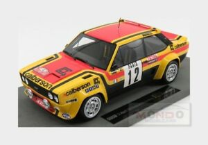 【送料無料】模型車 スポーツカー フィアットアバルト#ラリーモンテカルロムートントップfiat 131 abarth 12 rally montecarlo 1980 mouton arrii topmarques 118 top043b m
