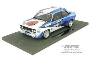 【送料無料】模型車 スポーツカー フィアットアバルトモンテカルロラリートップマルケスfiat 131 abarth monte carlo rally 1980 walter rhrl 118 top marques 043c