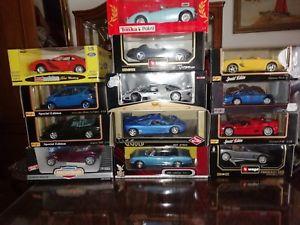 【送料無料】模型車 スポーツカー ロットcar 6 lot 118 maisto burago ovp