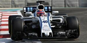【送料無料】模型車 スポーツカー ウィリアムズマルティニレーシングメルセデスロバートクビサアブダビテストwilliams martini racing mercedes fw40 robert kubica abu dhabi testing 2017 118