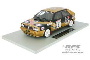 【送料無料】模型車 スポーツカー ランチアデルタエッソラリーサンレモトップマルケスlancia delta hf 4wd esso rally san remo 1987 tabaton 118 top marques 024f