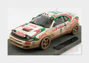 【送料無料】模型車 スポーツカー トヨタcelica gt4 st1858ラリーsanremo1994topmarques 118 top034cd motoyota celica gt4 st185 8 winner rally sanremo 1994 topmarques