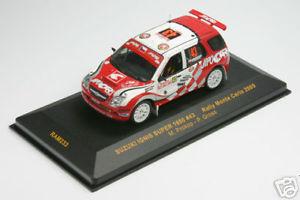 【送料無料】模型車 スポーツカー ラムスズキプロコプラリーモンテカルロ143 ram 233 suzuki ignis s1600 prokop rally monte 05