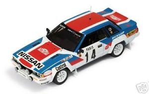 【送料無料】模型車 スポーツカー ルピーモンテカルロラリー143 rac 131 nissan 240 rs kaby monte carlo rally 1984