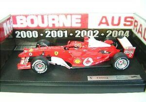 【送料無料】模型車 スポーツカー フェラーリミハエルシューマッハオーストラリアrarity ferrari f 2004 m schumacher australia
