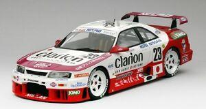 【送料無料】模型車 スポーツカー スカイライン#クラリオンルマンモデルnissan skyline gtr lm 23 clarion 24h le mans 1995 118 model