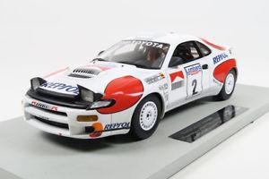 【送料無料】模型車 スポーツカー トップマルケストヨタセリカグアテマラ#サインツモヤラリーtop marques toyota celica gt4 2 sainzmoya winner rac rally 1992 118