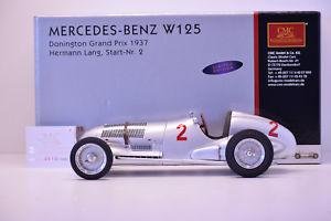 【送料無料】模型車 スポーツカー メルセデス#ボックスmercedes w125 1937 2 cmc 118 in box ref m114