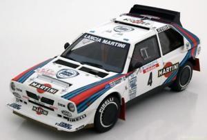 【送料無料】模型車 スポーツカー ランチアデルタ#ツールドコルス118 autoart lancia delta s4 4, tour de corse toivonencresto 1986