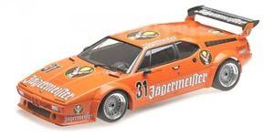 【送料無料】模型車 スポーツカー グラムイェーガーマイスターレースニュルブルクリンククルトキングbmw m1 gr 4 31 jgermeister drm eifel race nrburgring 1982 kurt king
