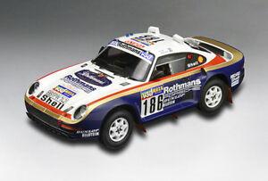 【送料無料】模型車 スポーツカー ポルシェダカールラリー118 tsm porsche 95950 86 dakar rally raid winner metge lemoine tsm121807r