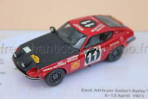 【送料無料】模型車 スポーツカー ダットサンサファリヒコミニチュアプロヴァンスムラージュc067 car datsun 240 z safari 1971 143 heco miniatures provence moulage