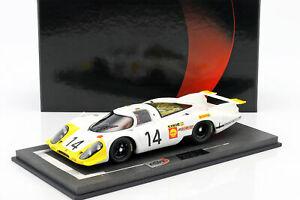 【送料無料】模型車 スポーツカー ポルシェ917 lh14 24hlemans 1969シュトメレンahrens jr118 bbrporsche 917 lh 14 24h lemans 1969 stommelen, ahrens jr 118 bbr