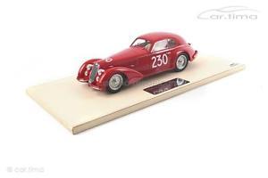 【送料無料】模型車 スポーツカー アルファロメオミッレミリアモデルalfa romeo 8c 2900 bwinner mille miglia 1947tsm model 118 tsmce 161802