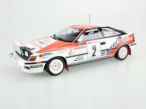 【送料無料】模型車 スポーツカー トップtoyota celica st 1652 sainzmoya montecarlo1181991top marques toyota celica st 165 2 sainzmoya montecarlo winner 1991 11