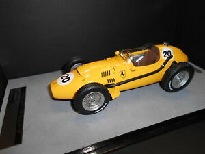 【送料無料】模型車 スポーツカー フェラーリディノ#ベルギーtmd18116d tecnomodel ferrari dino 246 f1 20 gendebien 6th belgium gp 1958 118