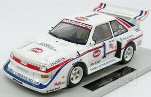【送料無料】模型車 スポーツカー アウディquattroスポーツs1 winner rally pikes peak1986topmarques 118 top029audi quattro sport s1 winner rally pikes peak 1986 our t